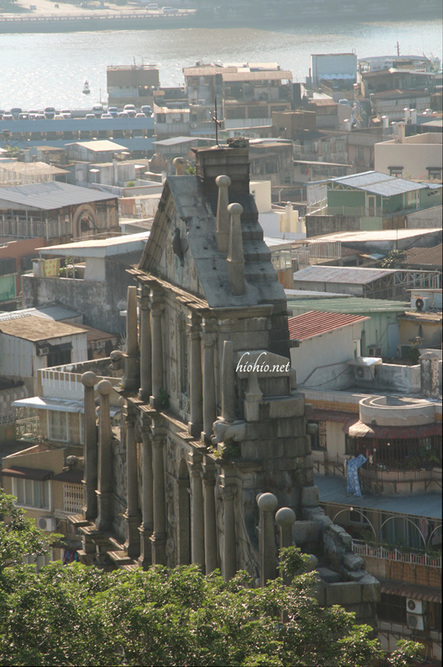 Ruins of St. Paul Macau.