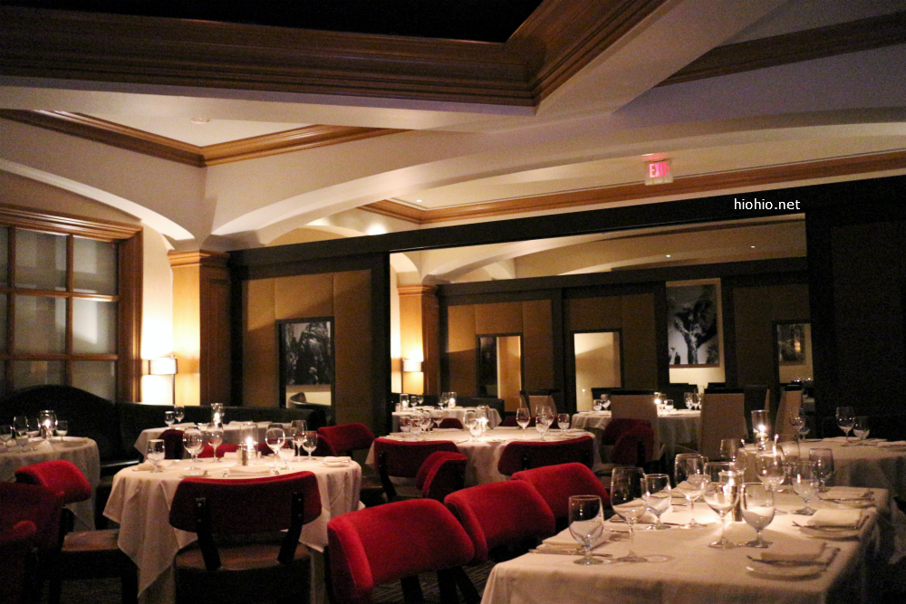 Charlie Palmers Las Vegas (interior of the restaurant).