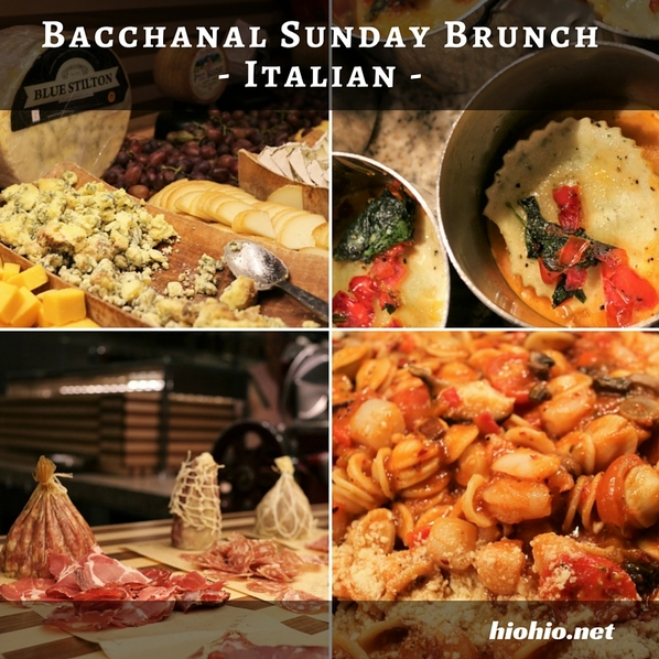 CP Bacchanal Sunday Brunch Las Vegas- Italian Food | hiohio.net