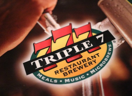 Triple 7 Restaurant and Brewery Las Vegas (Logo).
