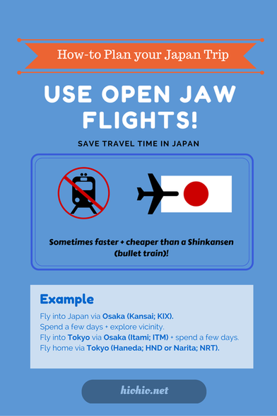Japan How-to |  Using Open Jaw Flights |  hiohio.net