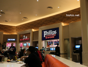 Caesars Las Vegas Forum Shop- Philips Seafood- Food Court.