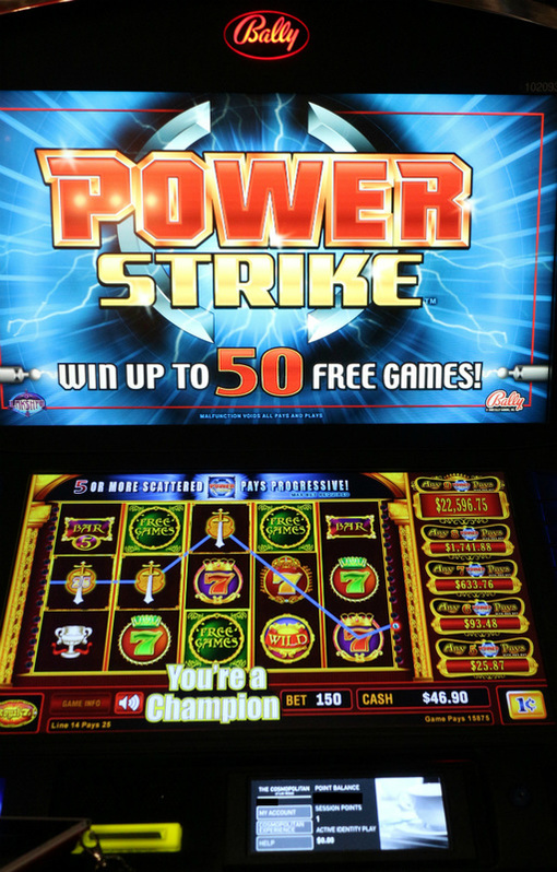 PowerStrike Slot machine.