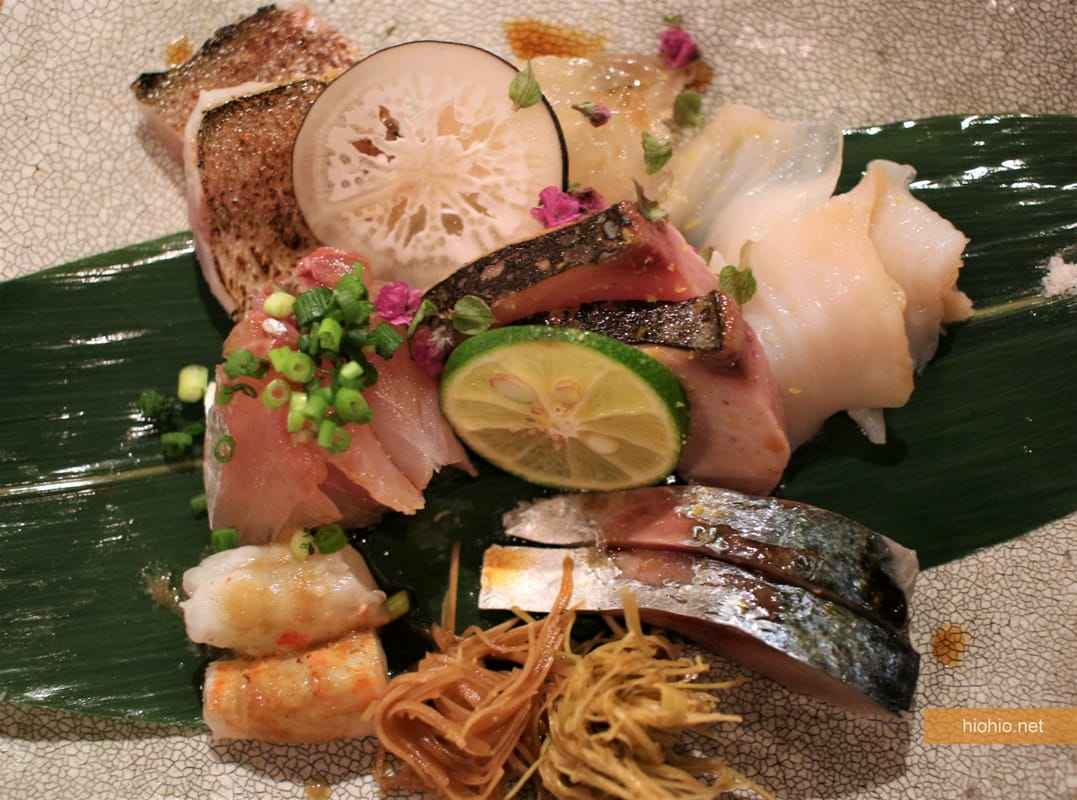 PLAT HOME Kanazawa Kitchen Japan (Fresh Fish Sashimi Platter).